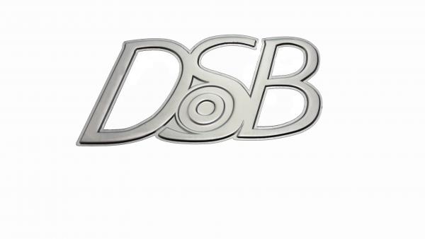 Magnetemblem DSB - Silber