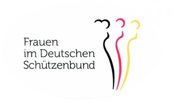 Aufkleber Frauen im Deutschen Schützenbund
