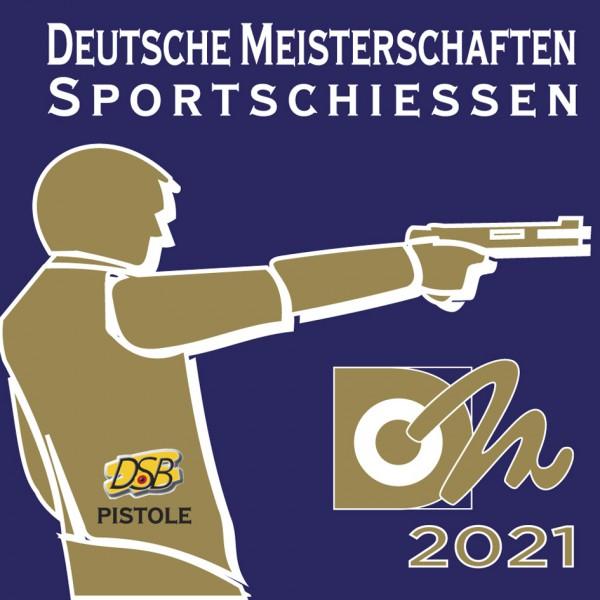 Aufkleber PISTOLE - Deutsche Meisterschaften 2021