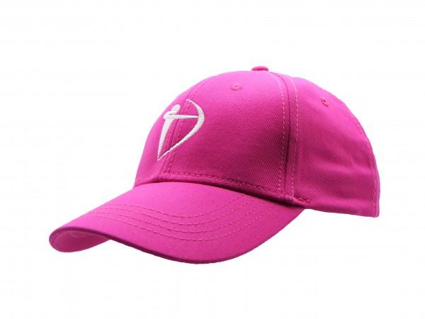 Basecap - Bogen in Pink