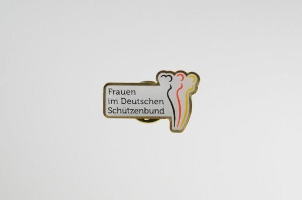 """Pin """" Frauen im Deutschen Schützenbund"""""""